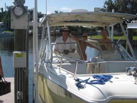 The Fam on the Boat!
