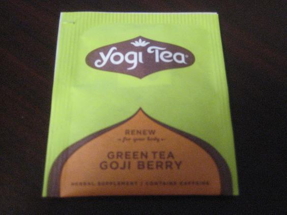 Yogi Goji Berry Green Tea