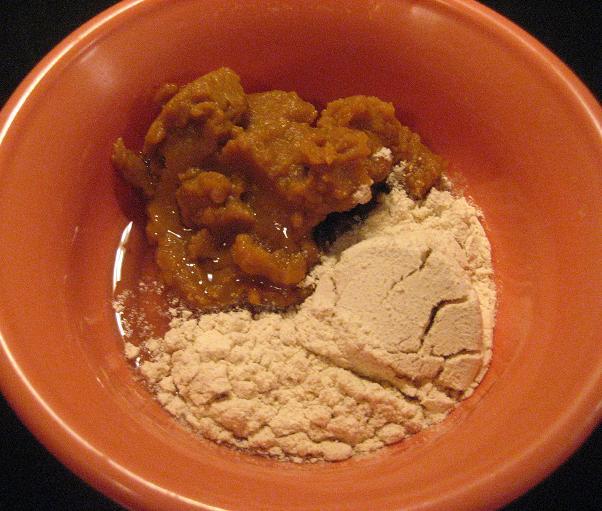 Canned Pumpkin, Egg Whites, Cinnamon Protein Powder