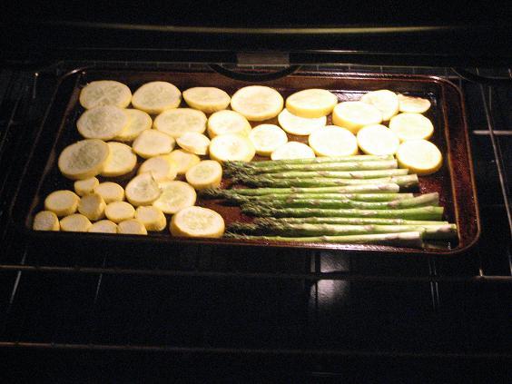 Summer Squash and Asparagus