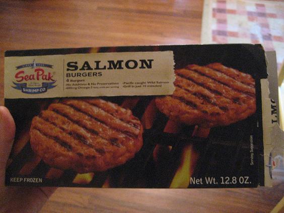 Sea Pak Salmon Burger