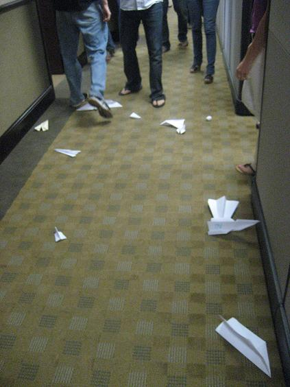 Paper Airplane Competition