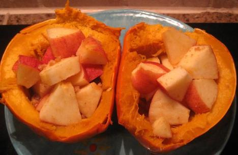 Apple Acorn Squash