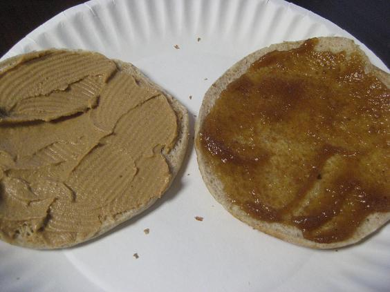 Peanut and Apple Butter