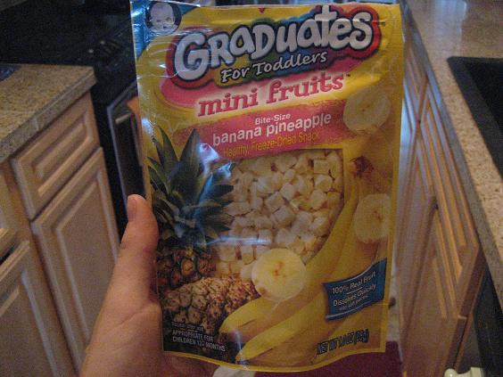 Gerber Graduates Dried Banana and Pineapple