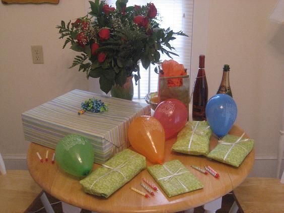 Ryan's Birthday Spread
