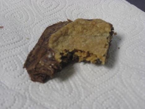 Chocolate Chip Cookie Brownie