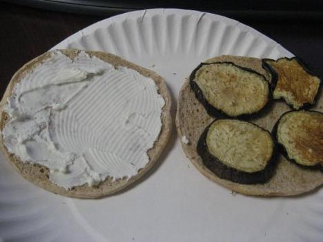 Eggplant and Goat Cheese