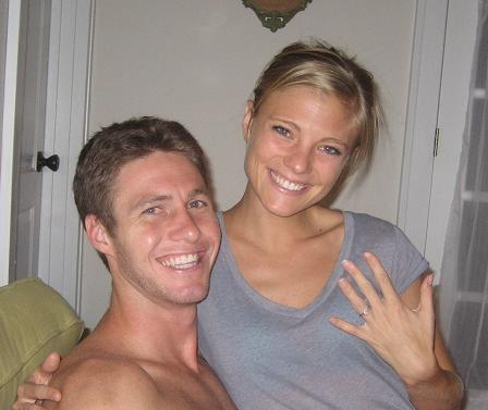 After a Long Night... Officially Engaged!