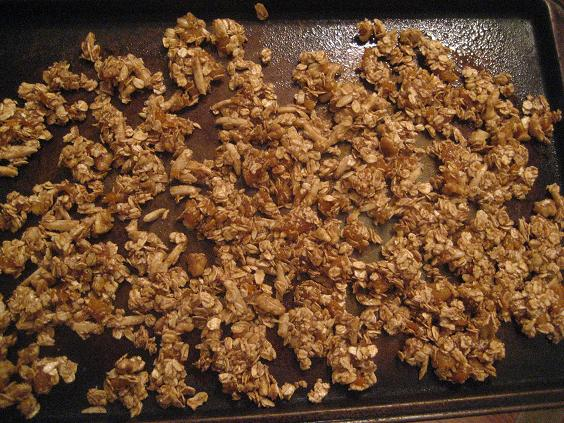 Nutty Apricot Granola