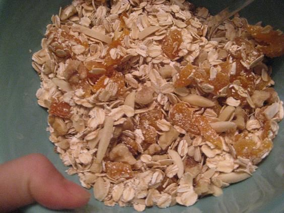 Oats, Apricots, Nuts