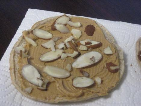 Peanut Butter and Almonds