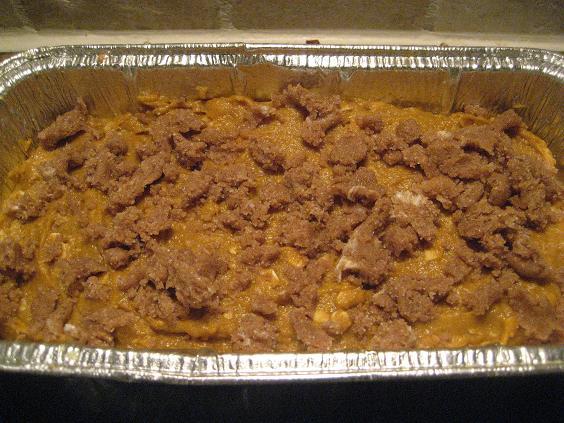Pre-Cooked Pumpkin Loaf