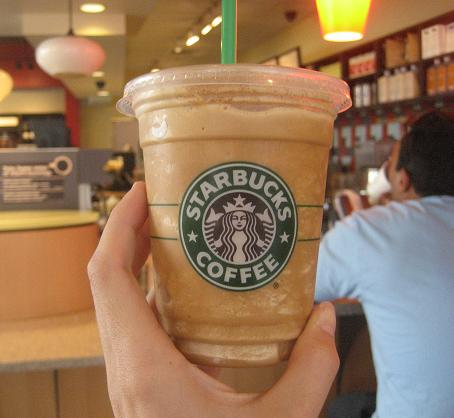 Light Pumpkin Spice Frappuccino