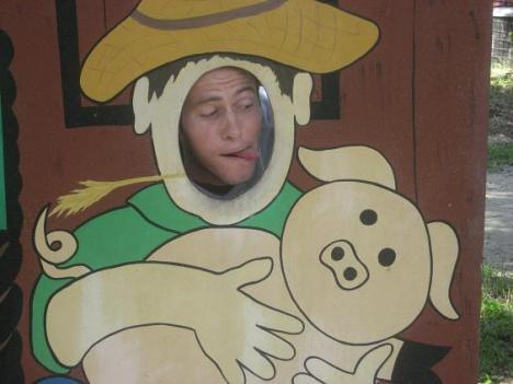 Ryan and His Piggy