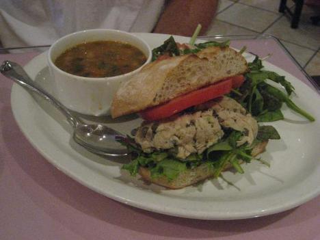 Tuna Salad and Soup
