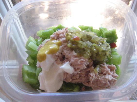 Pre-Mixed Tuna Salad