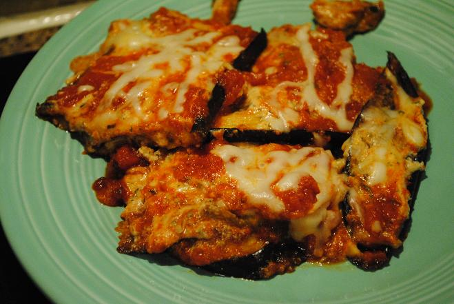 Roasted Eggplant Lasagna - Peanut Butter Fingers