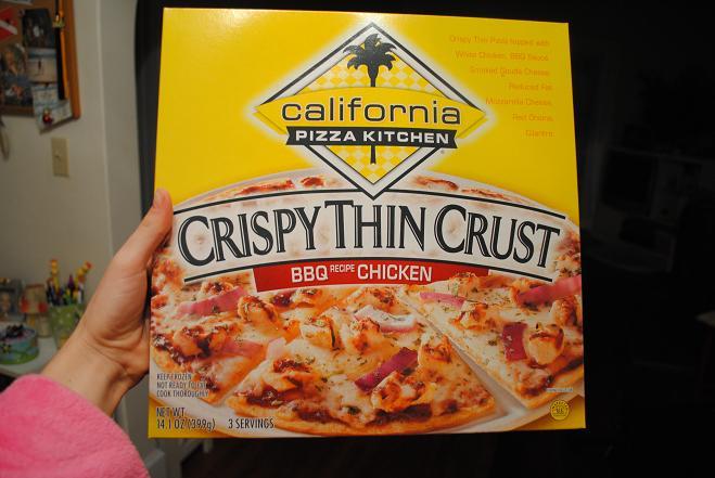 Frozen Pizza Kind Of Night - Peanut Butter Fingers