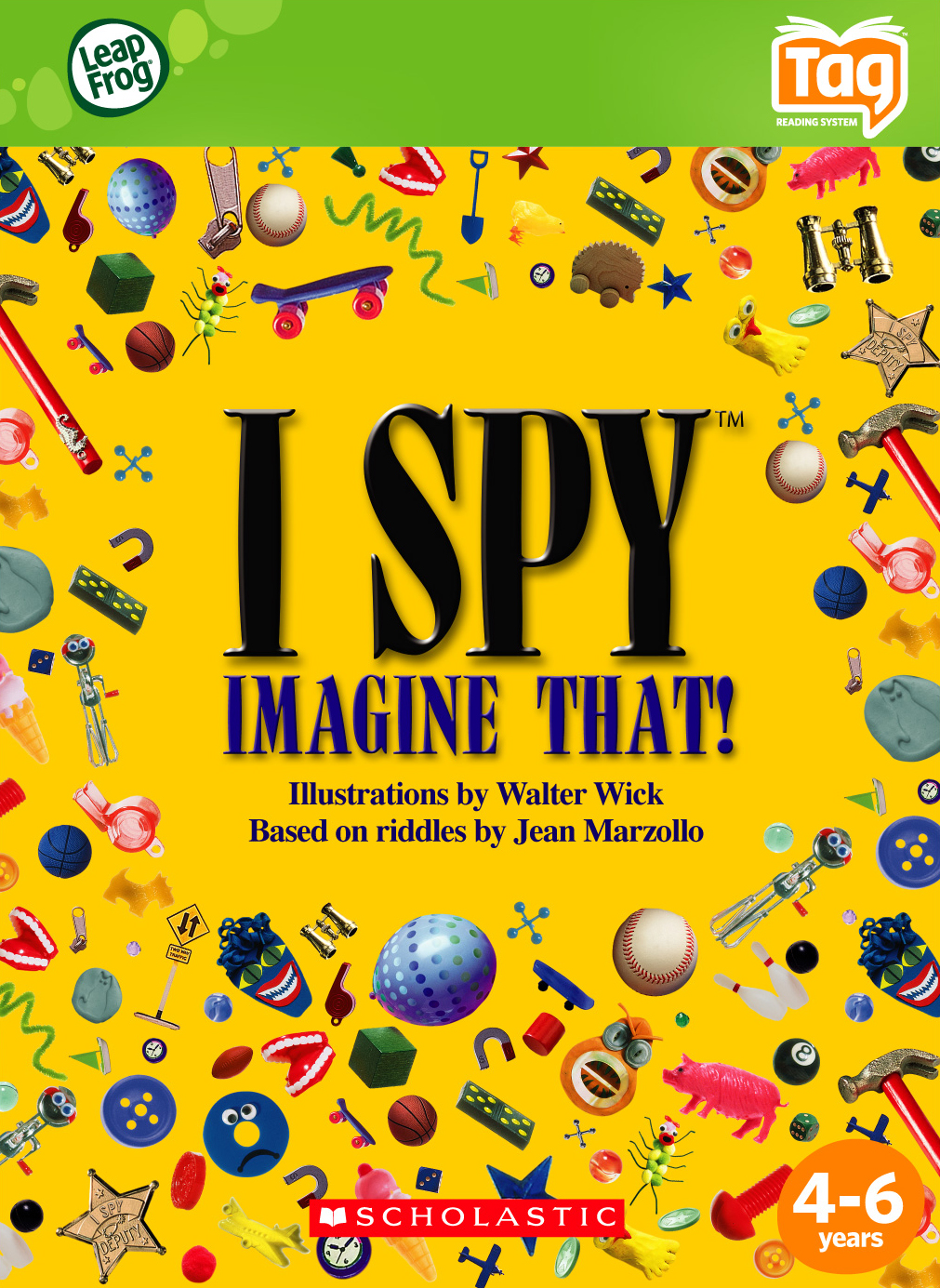 I Spy Book (These were the best!)
