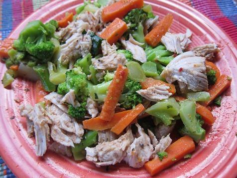 carrots broc turkey 010