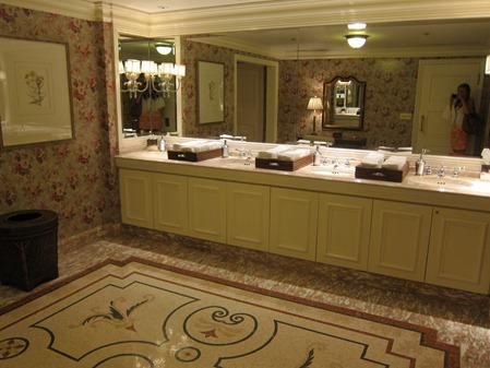 High Tea at the Ritz - Peanut er Fingers Upscale Restauant Bathroom Designs on