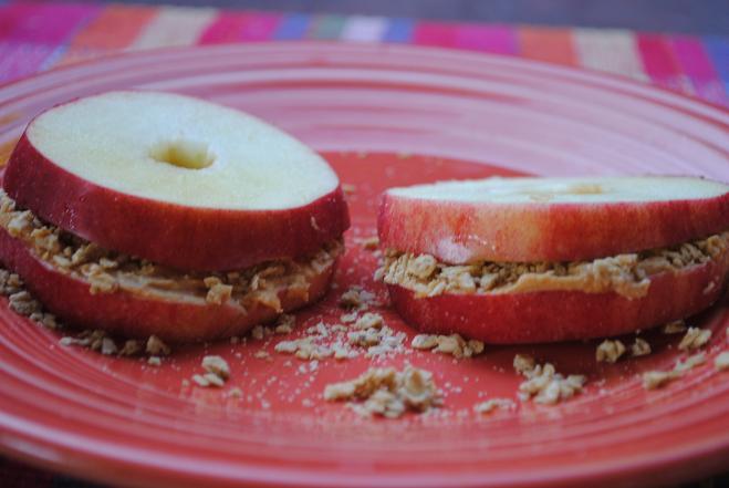 Apple Sandwich Stacks